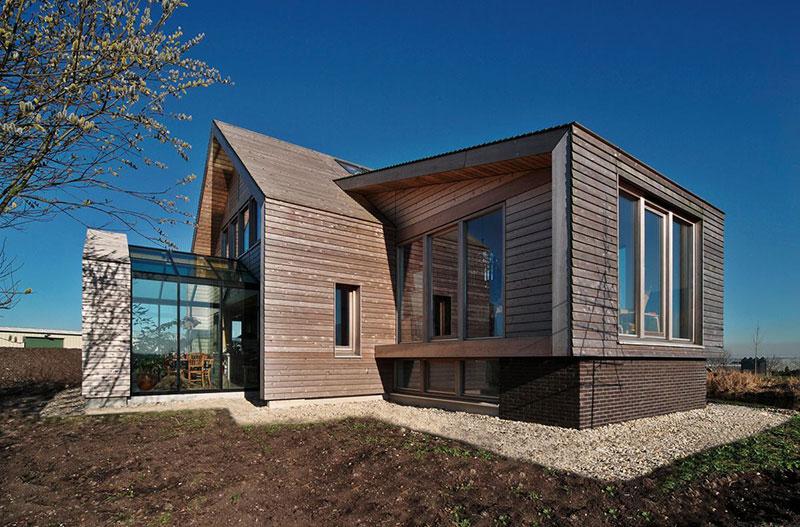 Eco villa nieuwveen kennisbank biobased bouwen - Moderne uitbreiding huis ...