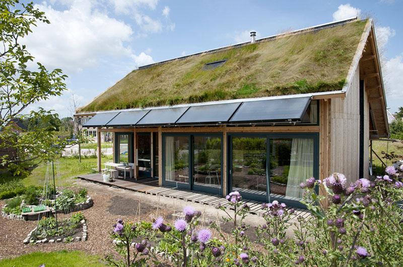 Ecologische woning dirksland kennisbank biobased bouwen for Vakantiehuis bouwen