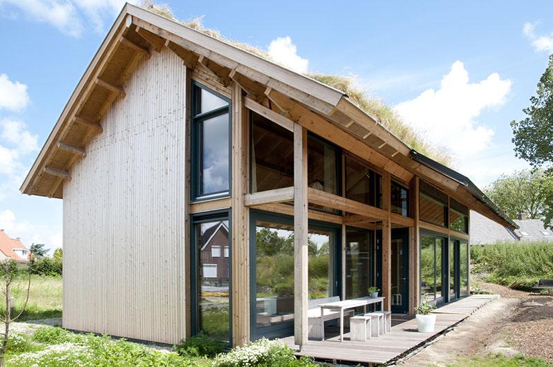 Ecologische woning dirksland kennisbank biobased bouwen for Huis duurzaam maken