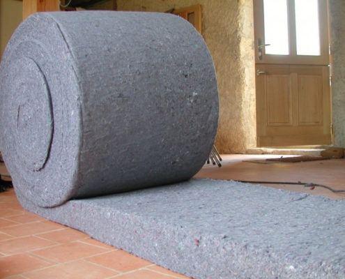 rol isolatiemateriaal van métisse