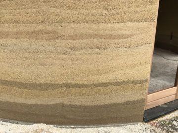 wandopbouw met kalkhennep