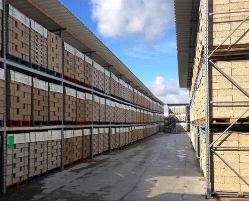 Isohemp bouwblokken voorraad